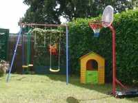 jardin arrière jeux